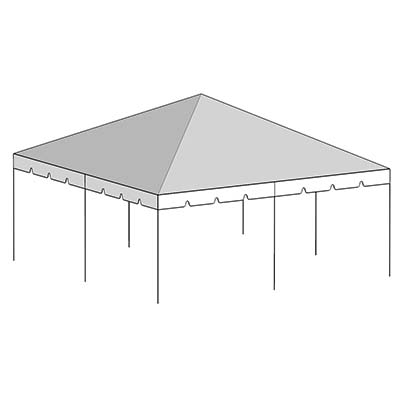 sc 1 st  Central Tent & 20x20 Complete Frame Tent 2 in. - Central Tent