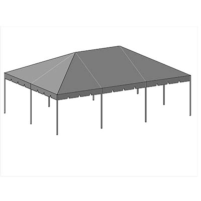 20x30 Complete Frame Tent - Commercial Frame Tent 20x30