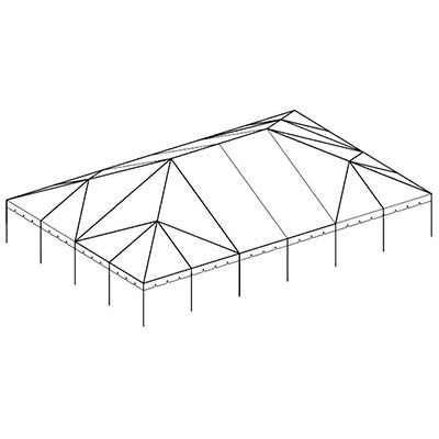 40×60 Complete Frame Tent  sc 1 st  Central Tent & 40x60 Complete Frame Tent - Central Tent