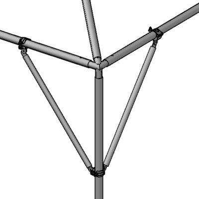 Corner Leg Brace 2u2033 Quick Cl&  sc 1 st  Central Tent & Leg Spreader 4 8 or 12 in. - Central Tent