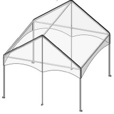 20x15 Complete Keder Track Gable Style 3 Pieces (2 End-1-Mid) - Central Tent  sc 1 st  Central Tent & 20x15 Complete Keder Track Gable Style 3 Pieces (2 End-1-Mid ...