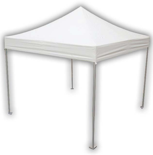 10x10 Commercial Popup Tent 15 Oz Fabric Central Tent