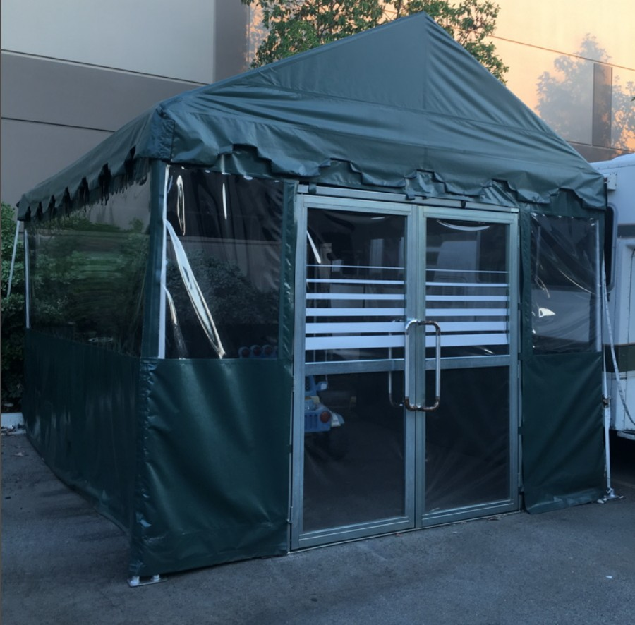 Tent Door u2013 6 Ft wide x 7u2032-2u2033 High : tent door - Pezcame.Com